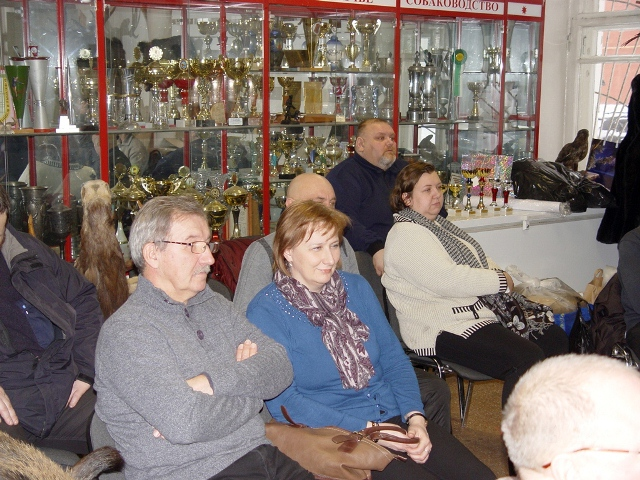 Собрание членов секции карельских лаек